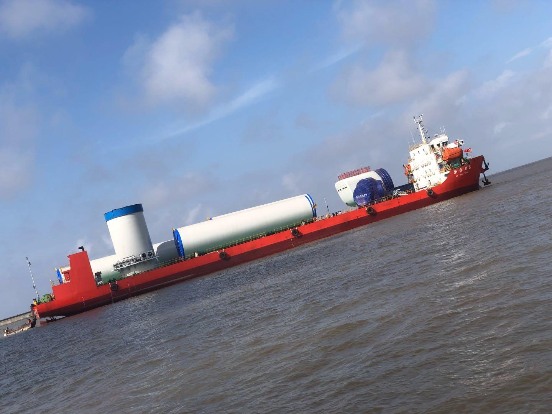 出售前驾11200吨28米宽海甲板船