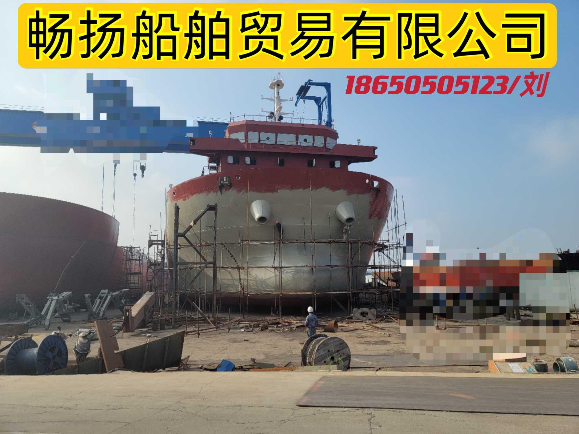 出售6200吨前驾甲板驳(新)