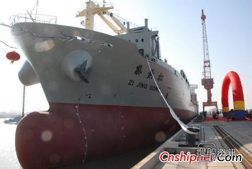 """中远航运多用途船""""紫荆松""""轮投入营运"""