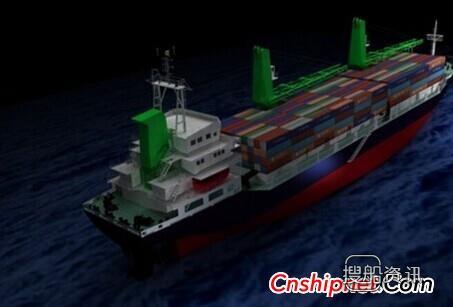 上海船厂3500TEU集装箱船进入浦西2号船坞,扬州康平船厂1140箱集装箱船