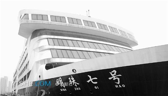"""上海地方明珠的造价 造好两年仍未装修 造价两亿的""""明珠七号""""游轮何以烂尾"""