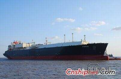 埃克森美孚/商船三井LNG首制船完成气体试航,商船三井