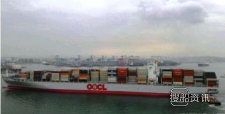 东方海外8888TEU集装箱船首航