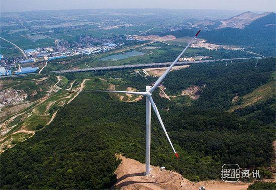 大型风力发电机组报价 浙江首个低风速风力发电项目并网试运行发电,大型风力发电机组报价