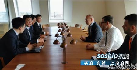 青岛双瑞董事长刘艳江率团在丹麦拜访战略客户,于双瑞