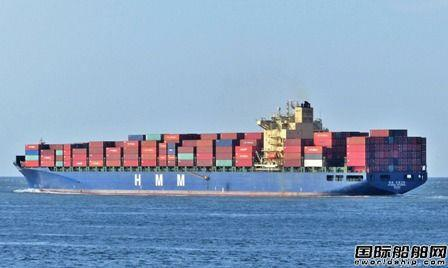 HMM紧急追加一艘集装箱船投入韩美航线,