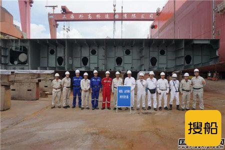 外高桥造船两艘21万吨散货船同日下坞,