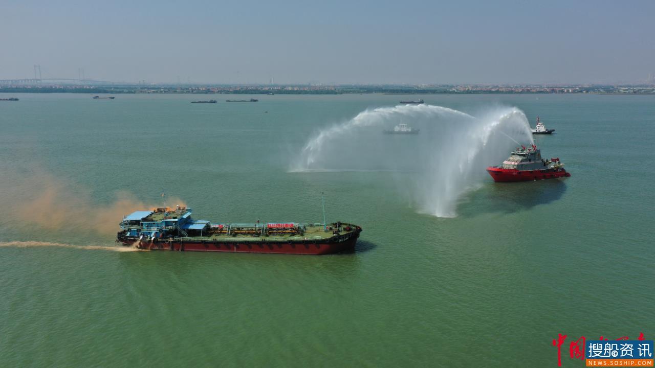 东莞市水上搜救分中心举行2020年 水上搜救应急综合演练