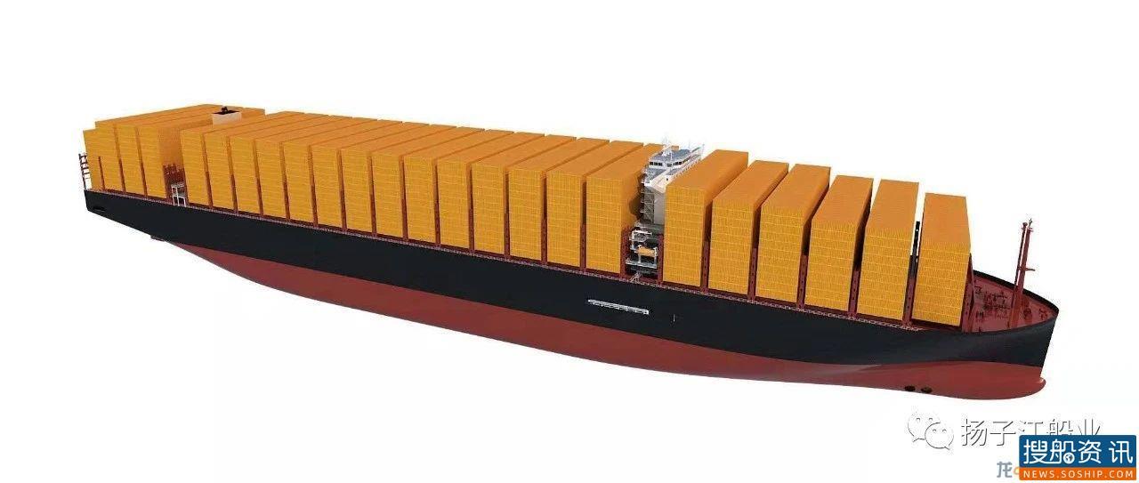 扬子江船业获两艘24000TEU集装箱船订单,