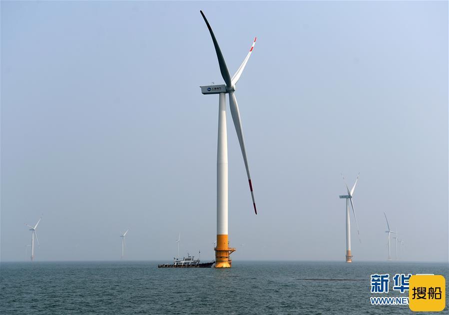 75台4MW!唐山乐亭菩提岛300MW海上风电场全部风机并网发电,