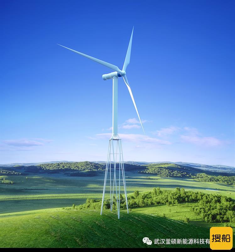 鉴衡颁发空间钢管混凝土风力发电机组塔架认证证书
