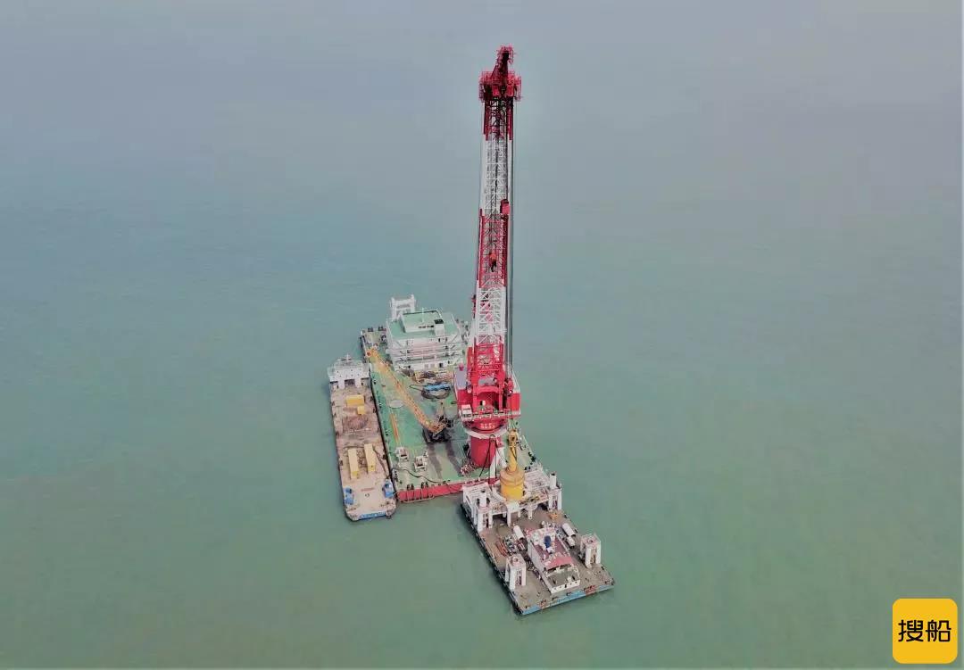 134根!国内单体容量最大海上风电项目沉桩任务全部完成