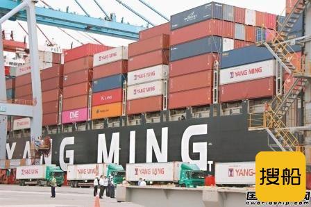 阳明海运全年首次实现全航线获利将扭亏为盈