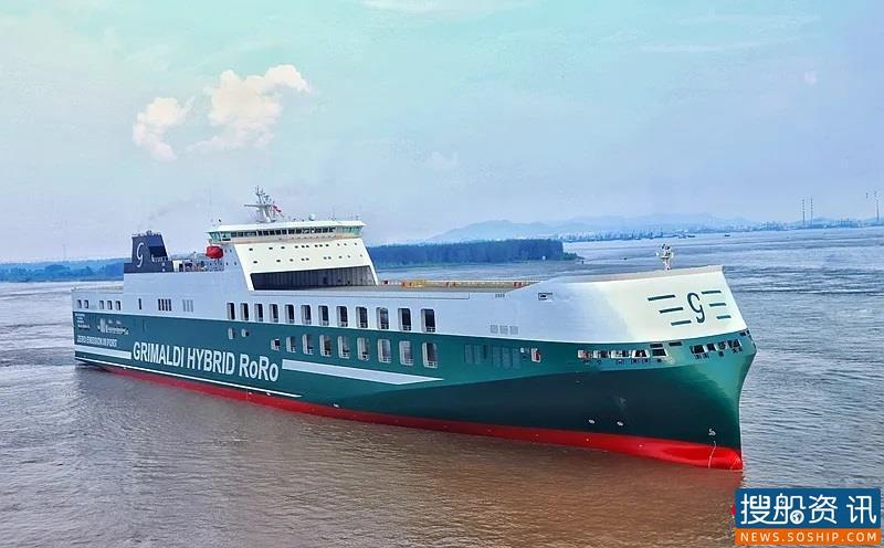 扬州海事局保障世界最大货滚船等三艘新造船安全离泊试航