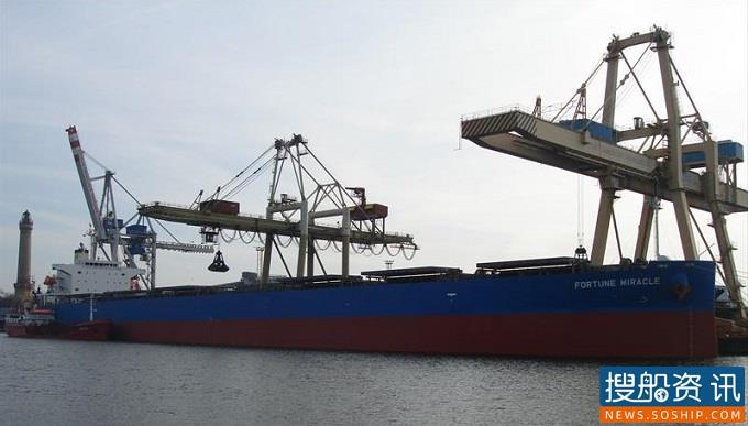 Castor Maritime 本周购买第二艘卡萨姆型散货船