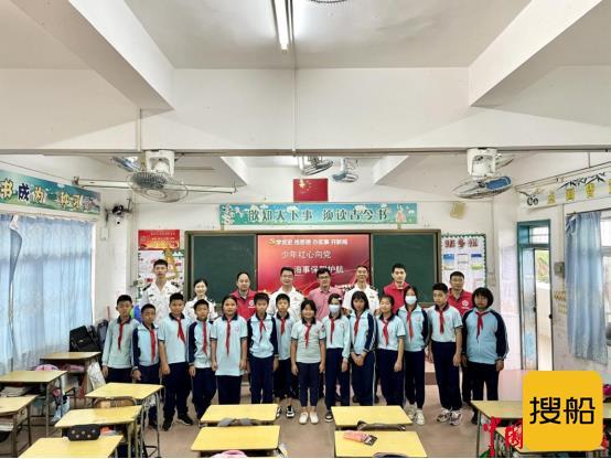 学史力行 情暖校园  中山海事推进学生渡品牌创建