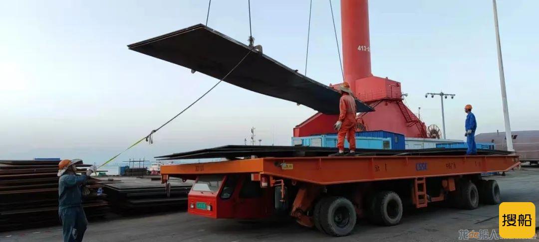 中船广西越南嘉莱CBTN风电塔筒项目正式开工