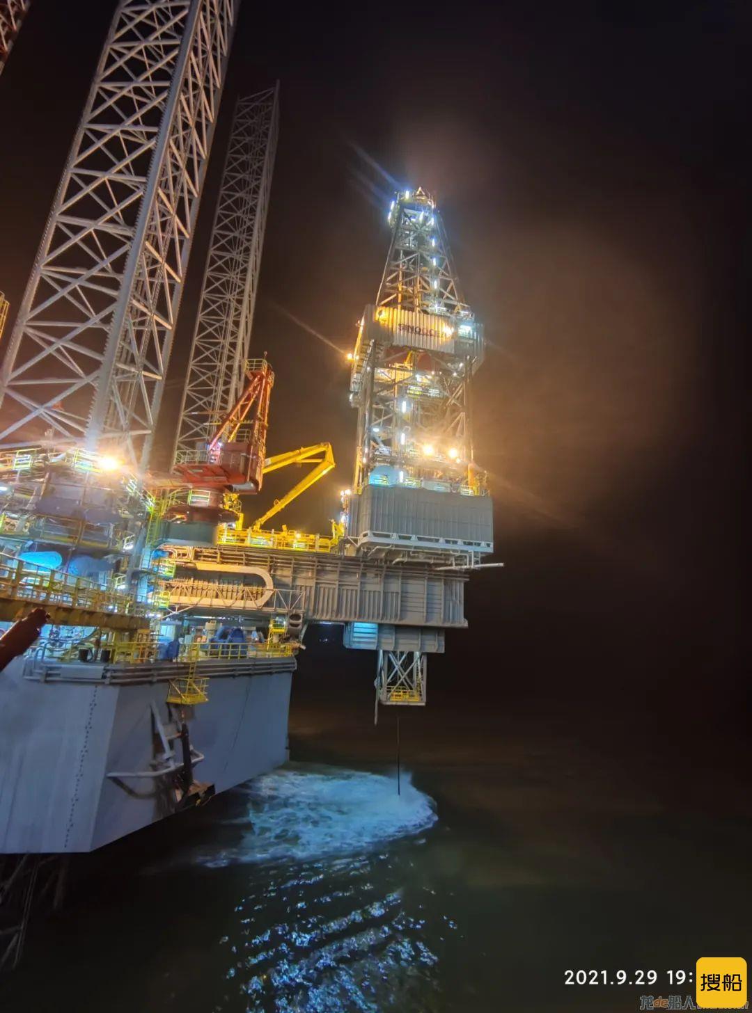 外高桥造船H1369项目完成码头联调试验