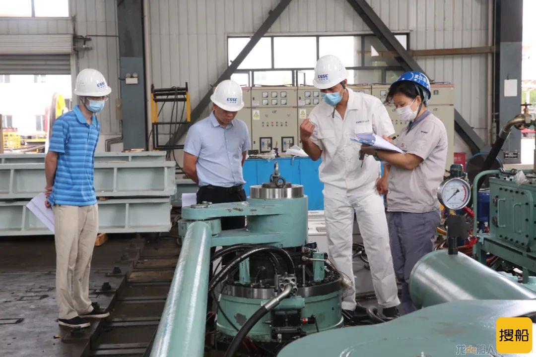 武汉船机研制的内河绿色智能操舵系统通过FAT试验发运出厂,