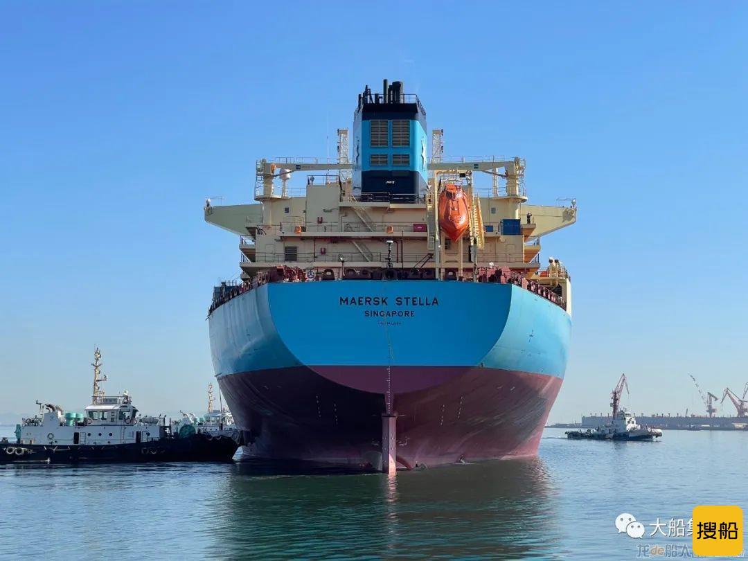 大船集团11.5万吨原油/成品油船4号船开启试航,