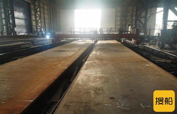 中广核广东惠州港口海上风电项目塔筒正式开工,