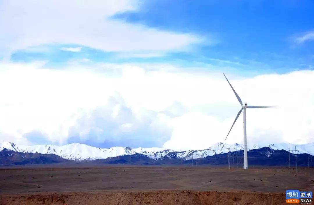 """当金山上好""""风""""光——记全国首座高原示范风电场,"""